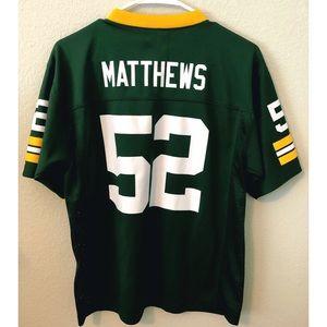 NFL Tops - Clay Matthews Packer Jersey